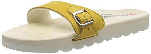 Berkemann Unisex-Erwachsene City O-Sandale Pantoletten, Gelb (Ocker 505), 40 2/3 EU