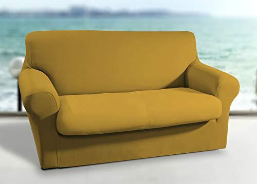 Biancheriaweb Sessel-Bezug für warme und Tiefe Schläfer mit Produkten von Colombi Sessel Senf