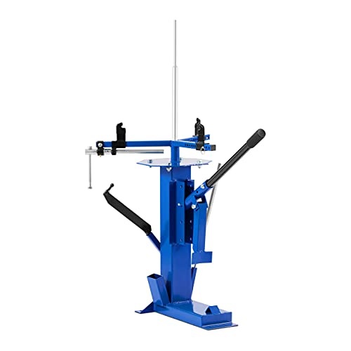 MSW MSW-MTC-350 Reifenmontiermaschine Reifenmontiergerät Reifen Maschine manuell 14-17\'\' Ø 12,7 / Ø 15,9 / Ø 19 / Ø 24 mm