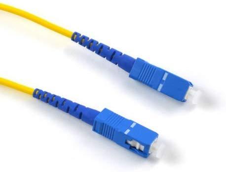 Extraela Cable Fibra Óptica Router - Latiguillo Monomodo
