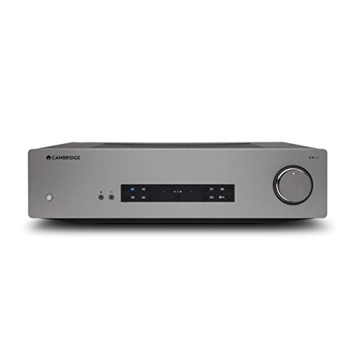 Cambridge Audio CXA61- Amplificador Estéreo Integrado de 60 vatios – aptX HD Bluetooth, 60 vatios por Canal, entradas Digitales y...