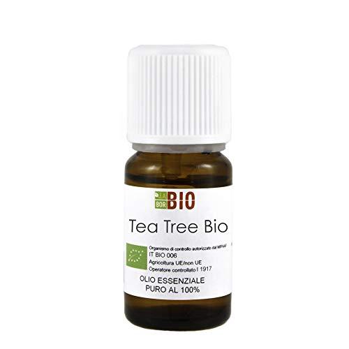 OLIO ESSENZIALE TEA TREE (TEA TREE OIL - ALBERO DEL TE') BIO 30ml - 100% PURO E NATURALE - USO ALIMENTARE, COSMETICO E PER DIFFUSORI - AROMATERAPIA - Melaleuca Alternifolia