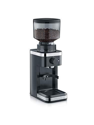 Graef CM502EU Kaffeemühle, 135, schwarz