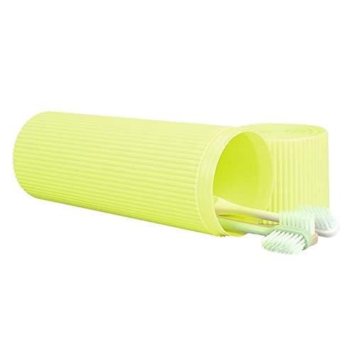 Vaso para cepillos de Dientes Estuche de viaje portátil tazas de pasta de dientes cepillo de dientes titular de la caja de almacenaje de viaje necesarios Accessaries baño de plástico for el hogar