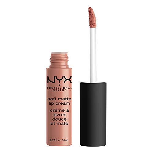 NYX Professional Makeup Pintalabios Soft Matte Lip Cream, Acabado cremoso mate, Color ultrapigmentado, Larga duración, Tono: Stockholm