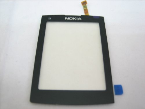 Nokia X3-02 ~ Touch Screen Digitizer Front Glass Faceplate Lens Part Panel ~ Mobile Phone Repair Part Replacement