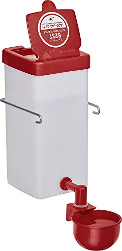 RentACoop 1L(32oz) Automatic Fill Chick Cup Drinker Waterer