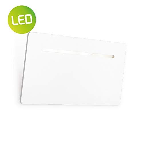 Home sweet home LED wandlamp Luigi ? 22 cm - wit
