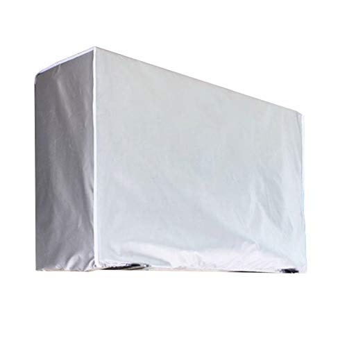 Harwls Outdoor Air Conditioner Carcasa Impermeable Antipolvo Sunscreen Air Conditioner Cover Protectors
