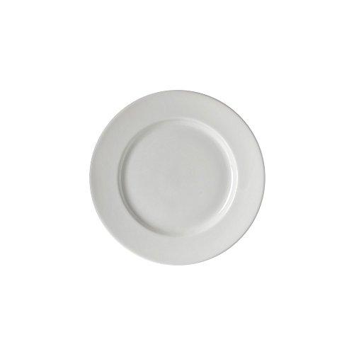 10 Strawberry Street Z-Ware Porcelain 6' Bread & Butter Plate, Set of 6, White
