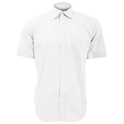 KUSTOM KIT - Chemise à Manches Courtes - Homme (S) (Blanc)