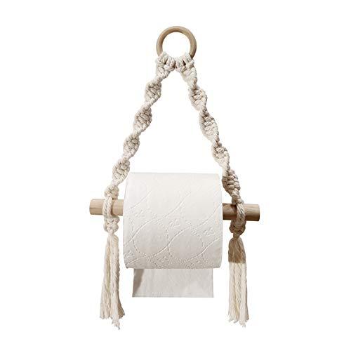LIU- Titulaire De Papier Toilette Porte-Serviettes Murale De Style De Corde Nautique pour La Ferme Farmhouse Hotel Décorations De Salle De Bain