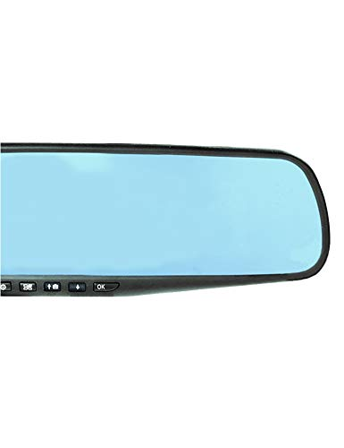 """Official HD Mirror Cam – As Seen on TV Dash Cam 350°, Motion Detection, 2.5"""" LCD, 720P HD, Dashboard Camera Video Recorder, Loop Recording, Night-Mode"""