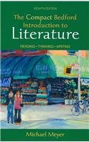 Compact Bedford Introduction to Literature 8e &  i-cite