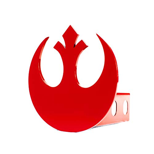 Star Wars Rebel Alliance Trailer Hitch Cover - Red