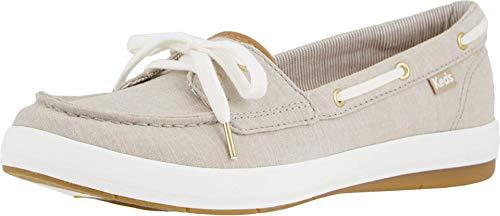 Keds Women's Charter Chambray Sneaker, Walnut, 7 M US
