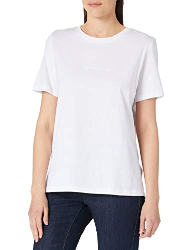 Desigual tee Mandala Back Camiseta, Blanco, M para Mujer