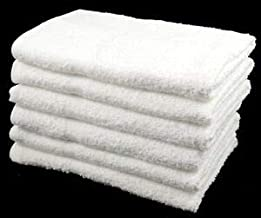 Cotton Paradise 6 Piece Towels Set, Ringspun Cotton & Absorbent, 2 Bath Towels, 2 Hand Towels, and 2 Washcloths (Grey)