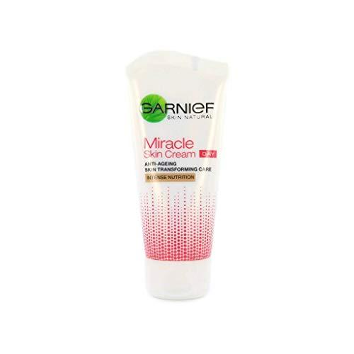Garnier Miracle Skin Cream Anti Ageing Day Skin Transforming Care 50ml Day Moisturiser for Age 50+