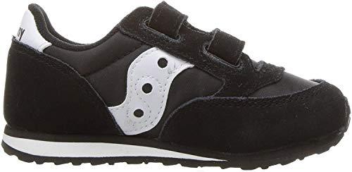 Saucony Boy's Baby Jazz Hook & Loop Sneaker, black/white,...