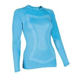Thermo t-shirt à manches longues pour femme wOMAN spokey dUNE Turquoise M/L