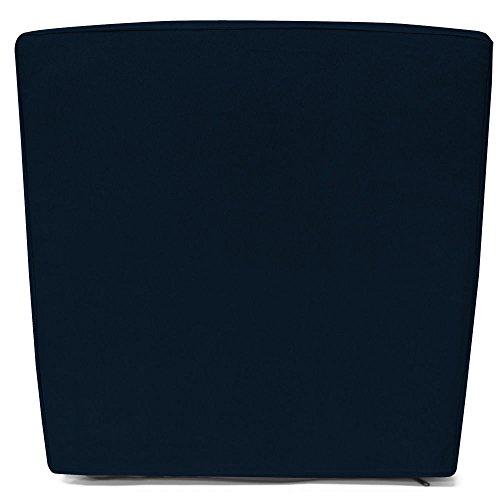 Detex Kissenbezug 8X Kissenhüllen Bezüge Sitzauflage Stuhlkissen Kissenhülle Blau