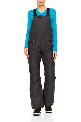 Swiss Alps - Pantalones de esquí impermeables y transpirables con bolsillos, L
