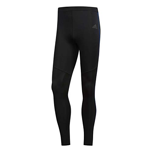 adidas Own The Run Tgt Tights, Hombre, Black/Collegiate Royal, M