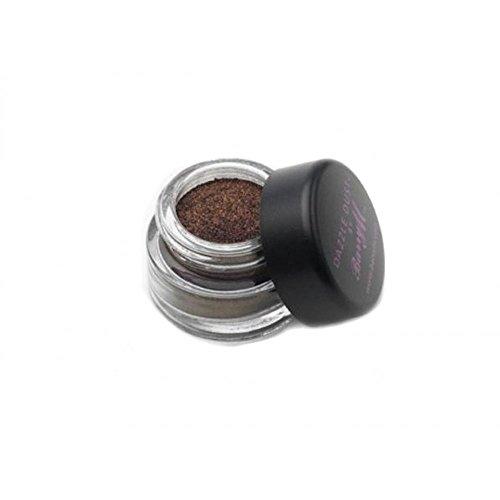 Barry M - Lidschatten Puder - Dazzle Dust Nr. 102 - Burgundy Noir (Bordeaux-Schwarz)