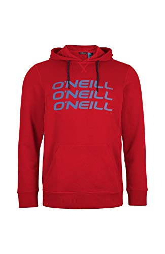 ONeill Triple Stack Hoodie Sweatshirts Homme Haute Red FR: M