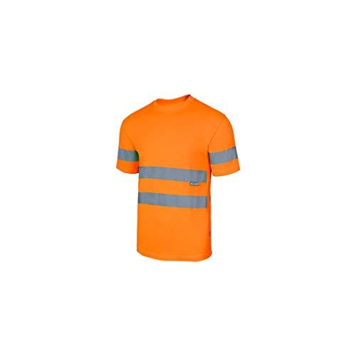 VELILLA - Camiseta Técnica Alta Visibilidad 305505 Hombre Naranja M