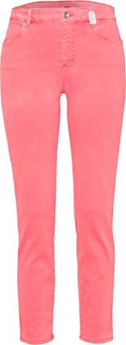 BRAX Damen Shakira S Free To Move Jump Into Colour Skinny Jeans, Rot (Neon Orange 44), W32/L32 (Herstellergröße: 42)