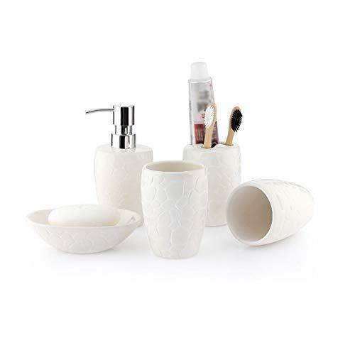 Dispensador Jabon Cocina Juego de accesorios de baño creativo de cerámica de...