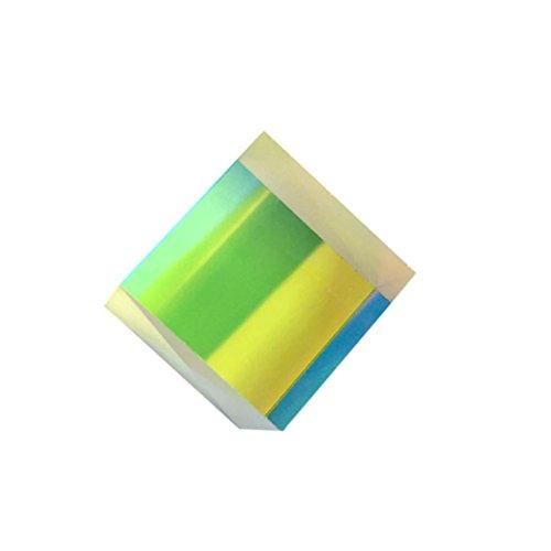 BESTOMZ Präzisions Optisches Glas Prisma 1 Stück 15x15x15mm für Physik Lehre Dekoration kunst