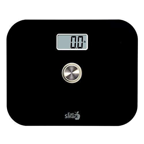 EatSmart Precision Power Battery Free Digital Bathroom Scale