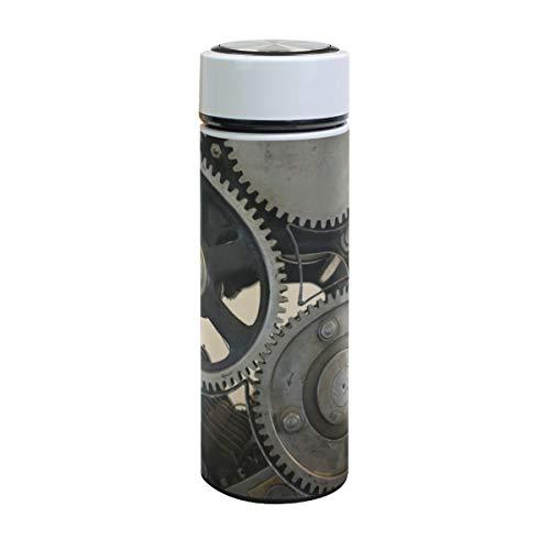 XiangHeFu Sport Thermoskan waterfles koffie lekvrij koud of warm houden reisbeker technologie, druk mechanische verplaatsing 17oz