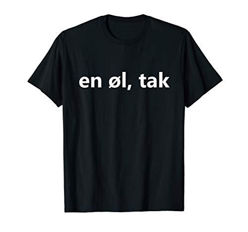 Bier Bitte Dänemark Urlaub Reise Kopenhagen Dänisch lustig T-Shirt