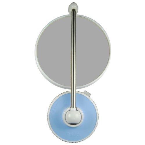 TWISTMIRROR Miroir Intelligent grossissant 10x Couleur: Bleu Ciel