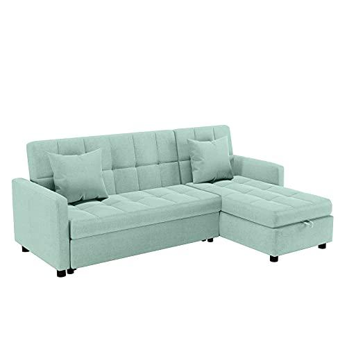 POVISON Reversible Sectional Sofa Sleeper