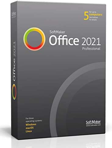 SoftMaker Office 2021 PRO create word documents spreadsheets and presentations software for product image