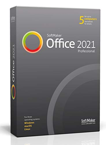 SoftMaker Office 2021 PRO - Word processing, spreadsheet and presentation...