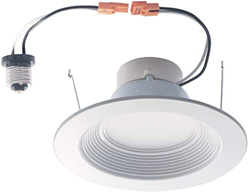 LED2020 LED 6' Recessed Downlight Retrofit, 16W to Replace 120W Halogen, Daylight (5000K), 1050LM, Dimmable, Energy Star, UL Certified, 12PACK