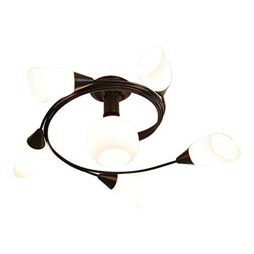 Led-plafondlamp in landelijke stijl plafondlamp creatieve woonkamer plafondlamp slaapkamer plafondlamp eetkamer plafondlamp plafondlamp