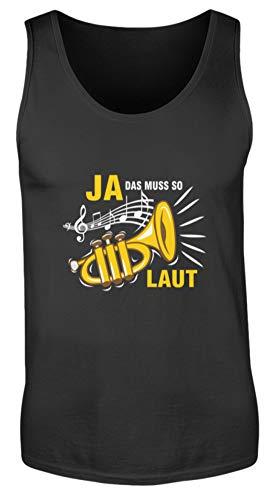 SPIRITSHIRTSHOP Ja, dat must zo geluid! Trompet capsule orchester design - heren tanktop