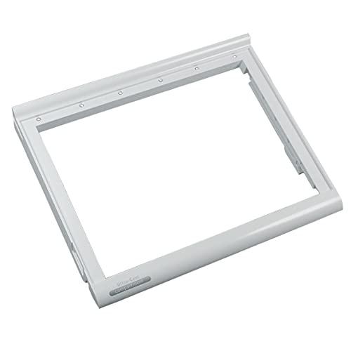 Whirlpool 481241828359 ORIGINAL Rahmen Ablage Deckel für Schublade unten 405x342x47 Weiß Kühlschrank Side-by-Side US Kühlgerät auch Bauknecht IKEA KitchenAid SMEG Indesit Ariston Hotpoint C00195483