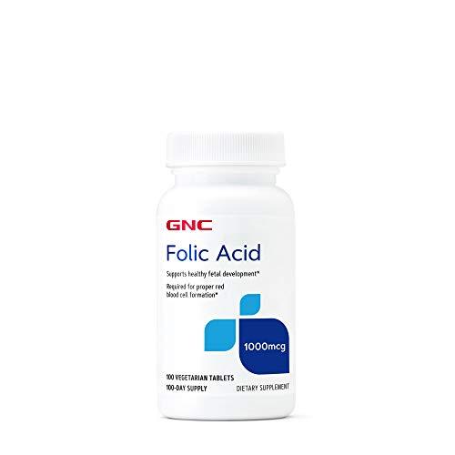 GNC Folic Acid 1000 MCG