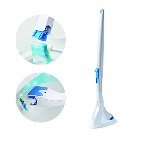 Klobürste Anzug/Austauschbar-Toilettenbürste Kopf Abbaubares konzentriertes Waschmittel Toilet Cleaning Brush Bad-Accessoires