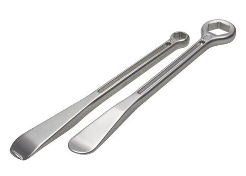 Motion Pro 08-0539 22mm and 12/13mm T-6 Combination Tire Lever/Wrench Set