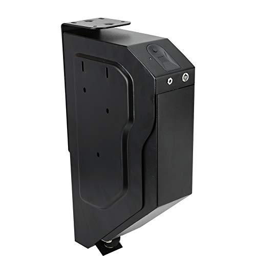 Alinory Fingerabdrucksperre Safe, Pistolenhalter Home Security Gun Case mit Ersatzschlüsseln Waffensafe, Box für Fingerabdrucksperre