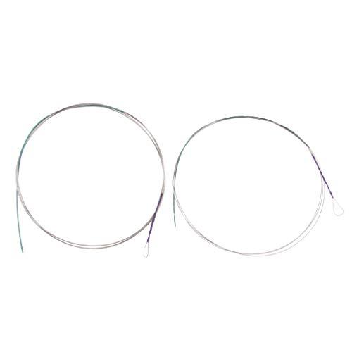 2stk Äußere Und Innere Saiten String für Zhonghu, Silber